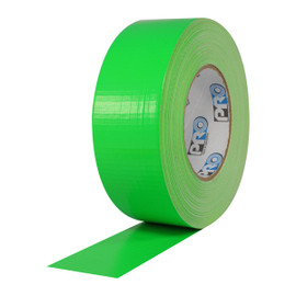 Pro Duct 139 Fluorescent Green Duct Tape 2 inch x 60 yard Roll