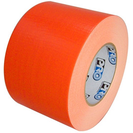 Pro Duct 139 Fluorescent Orange Duct Tape 4 inch x 60 yard Roll (12 Roll/Pack)