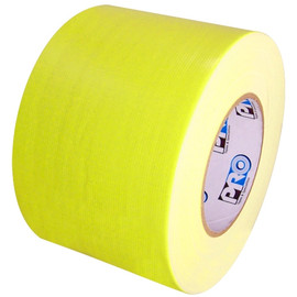 Pro Duct 139 Fluorescent Yellow Duct Tape 4 inch x 60 yard Roll