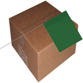 Marking Flags Green 4 inch x 5 inch Flag with 30 inch Wire Staff (1000 Piece/Pack)