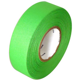 Fluorescent Green Cloth Hockey Stick Tape 1 inch x 20 yard Roll