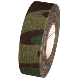 Green Camo Cloth Hockey Stick Tape 1 inch x 20 yard Roll