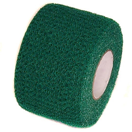 Green Cohesive Soft Grip Tape 1-1/2 inch x 5 yard Roll