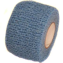 Powder Blue Cohesive Soft Grip Tape 1-1/2 inch x 5 yard Roll
