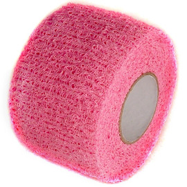 Pink Cohesive Soft Grip Tape 1-1/2 inch x 5 yard Roll