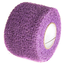 Purple Cohesive Soft Grip Tape 1-1/2 inch x 5 yard Roll