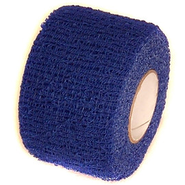 Royal Blue Cohesive Soft Grip Tape 1-1/2 inch x 5 yard Roll