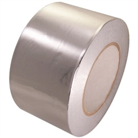 AF-30A 3 inch x 60 yard Roll 3 mil Aluminum Foil Tape with liner