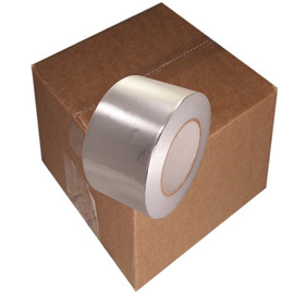 AF-20R 3 inch x 50 yard Roll Aluminum Foil Tape with liner (16 Roll/Pack)