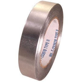 AF-30SW 1 inch x 60 yard Roll 3 mil Aluminum Foil Tape without liner