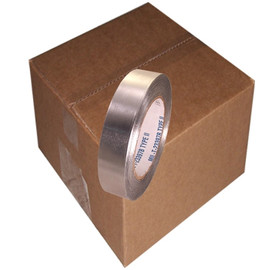 AF-30SW 1 inch x 60 yard Roll 3 mil Aluminum Foil Tape without liner (36 Roll/Pack)