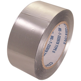 AF-30SW 2 inch x 60 yard Roll 3 mil Aluminum Foil Tape without liner