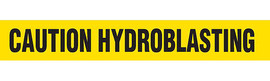 Caution Hyardroblasting
