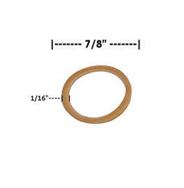Rubber Bands 1/16 inch x 7/8 inch (50000 Per/Pack)