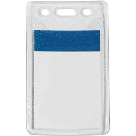 Pre-Punched Badge Holders 2 inch x 3 inch (100 Per/Pack)