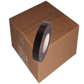 Black Duct Tape 1 inch x 60 yard Roll (48 Roll/Pack)