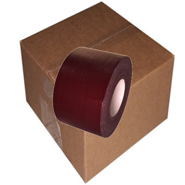 Dark Burgundy Duct Tape 4 inch x 60 yard Roll (12 Roll/Pack)
