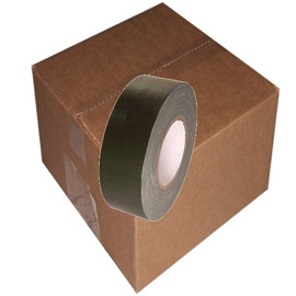 Olive Drab Duct Tape 2 inch x 60 yard Roll (24 Roll/Pack)
