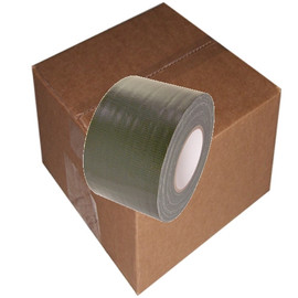 Olive Drab Duct Tape 4 inch x 60 yard Roll (12 Roll/Pack)