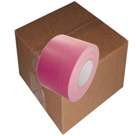 Pink Duct Tape 4 inch x 60 yard Roll (12 Roll/Pack)