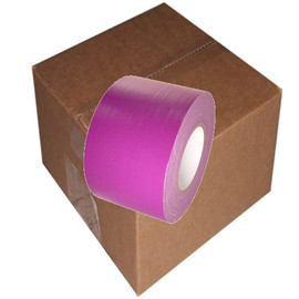 Purple / Violet Duct Tape 4 inch x 60 yard Roll (12 Roll/Pack)