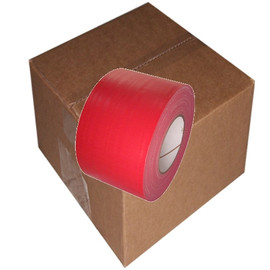 Red Duct Tape 4 inch x 60 yard Roll (12 Roll/Pack)