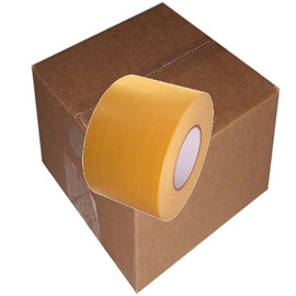 School Bus Yellow Duct Tape 4 inch x 60 yard Roll (12 Roll/Pack)