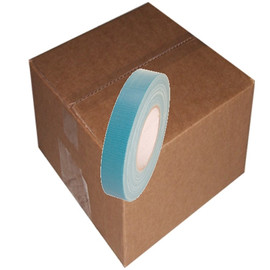Teal Blue Duct Tape 1 inch x 60 yard Roll (48 Roll/Pack)