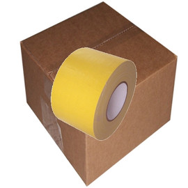 Yellow Duct Tape 4 inch x 60 yard Roll (12 Roll/Pack)