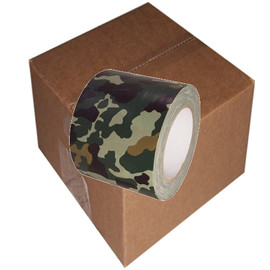 Camo Duct Tape 4 inch x 25 yard Roll (12 Roll/Pack)