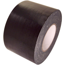 Black Duct Tape 6 inch x 60 yard Roll (8 Roll/Pack)