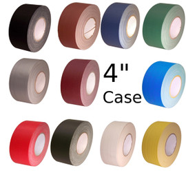 Economy Gaffers Duct Tape 4 inch X 60 yard (12 Roll/Pack)