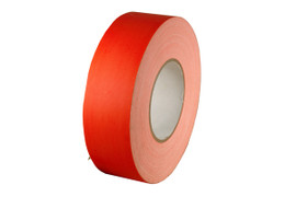 Economy Fluorescent Orange Gaffers Duct Tape 2 inch x 60 yard Roll (24 Roll/Pack)