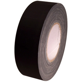 Economy Black Gaffers Duct Tape 2 inch x 60 yard Roll (24 Roll/Pack)
