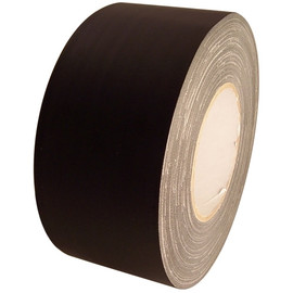 Economy Black Gaffers Duct Tape 3 inch x 60 yard Roll (16 Roll/Pack)