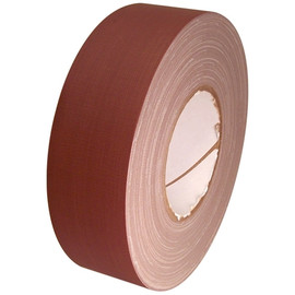 Economy Brown Gaffers Duct Tape 2 inch x 60 yard Roll (24 Roll/Pack)