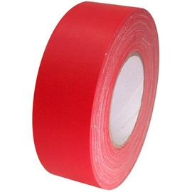 Economy Red Gaffers Duct Tape 2 inch x 60 yard Roll