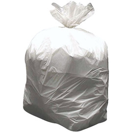 High Density Trash Bags Natural 40 inch x 48 inch x 0.6mil (250 Per/Pack)