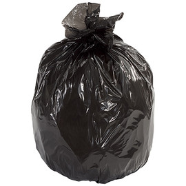 Second Chance Trash Bags Black 40 inch x 46 inch x 1.1mil (100 Per/Pack)