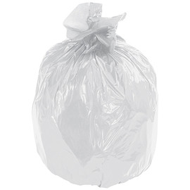 Second Chance Trash Bags Clear 35 inch x 58 inch x 1.7mil (100 Per/Pack)