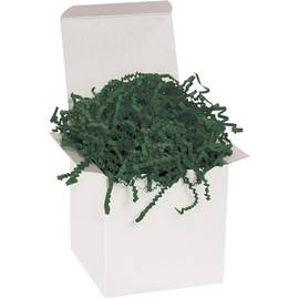 Crinkle Paper Forest Green 10 lb. Box