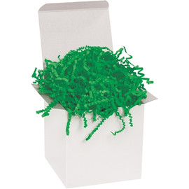 Crinkle Paper Green 10 lb. Box