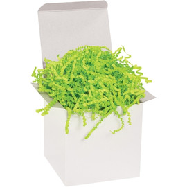 Crinkle Paper Lime 10 lb. Box