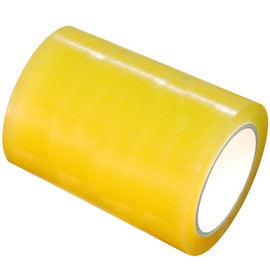 Clear Vinyl Tape 6 inch x 36 yard Roll