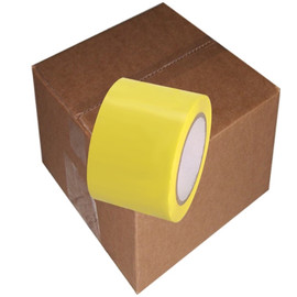 Yellow Vinyl Tape 3 inch x 36 yard Roll (16 Roll/Pack)