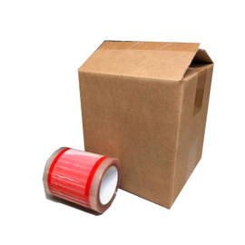 Pouch Tape 6 inch x 8 inch DOCUMENTS ENCLOSED (8 Roll/Pack)