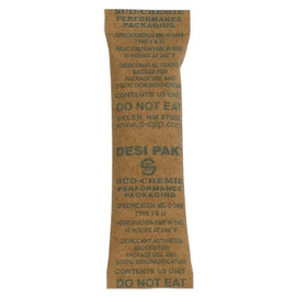 Kraft Clay Desiccants 1 inch x 3 1/2 inch x 1/4 inch (700 Per/Pack)