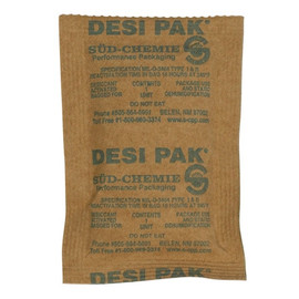 Kraft Clay Desiccants 3 inch x 4 inch x 1/4 inch (300 Per/Pack)