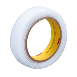 3M SJ3526N Scotchmate Fastener White Hook 1 inch x 150 ft (3 Roll/Pack)