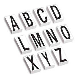 Vinyl Letter Label Kit 3 1/2 inch A-Z
